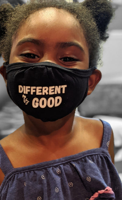 Different is Good - Limited Edition Kid Mask