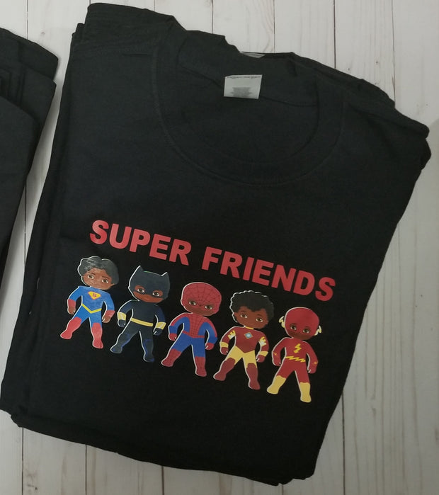 SUPER FRIENDS  - Dad Tee