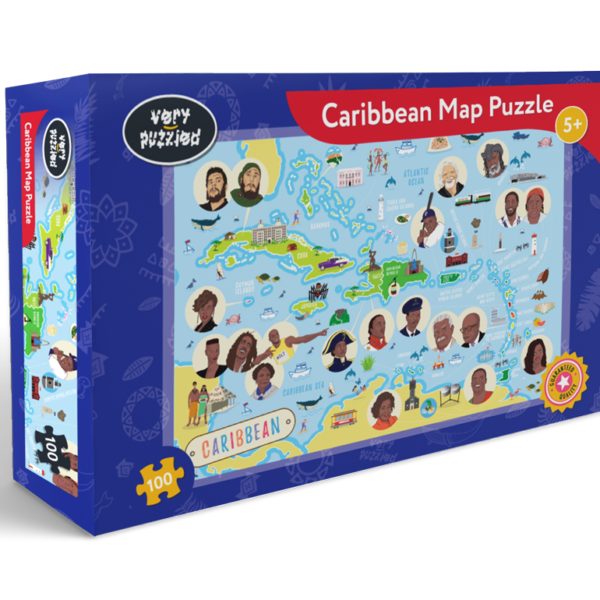 Caribbean Map Jigsaw Puzzle
