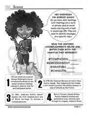 STEAM Black History Activity Book