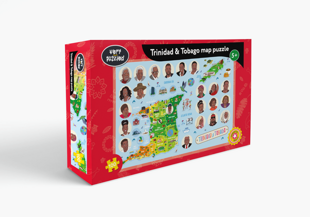 Trinidad & Tobago Map Jigsaw Puzzle
