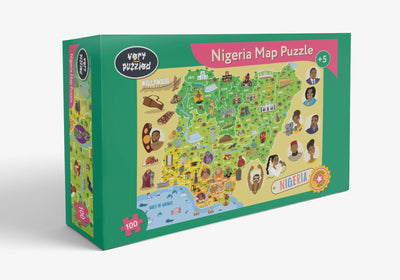 Nigeria Map Jigsaw Puzzle
