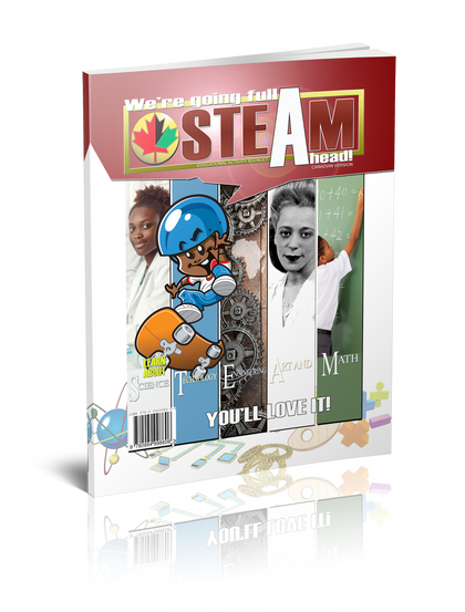 STEAM Black History Activity Book - Canadian Version
