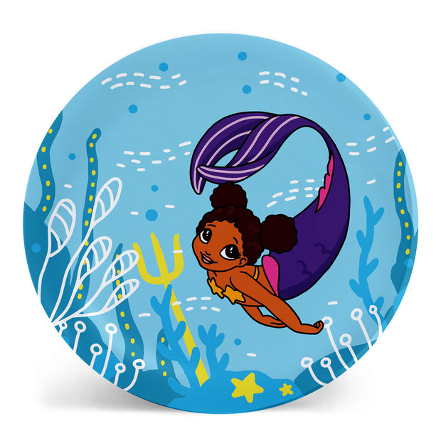 Cocoa Mermaid Dinner Plate