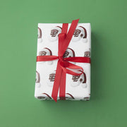 Clarence Claus™ Close Up Gift Wrap