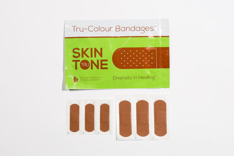 Tru-Colour Bandages -  Green Pack (Light Brown)