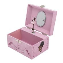 Nia Ballerina Musical Jewelry Box - Reflection