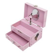Nia Ballerina Musical Jewelry Box - Dressing Table