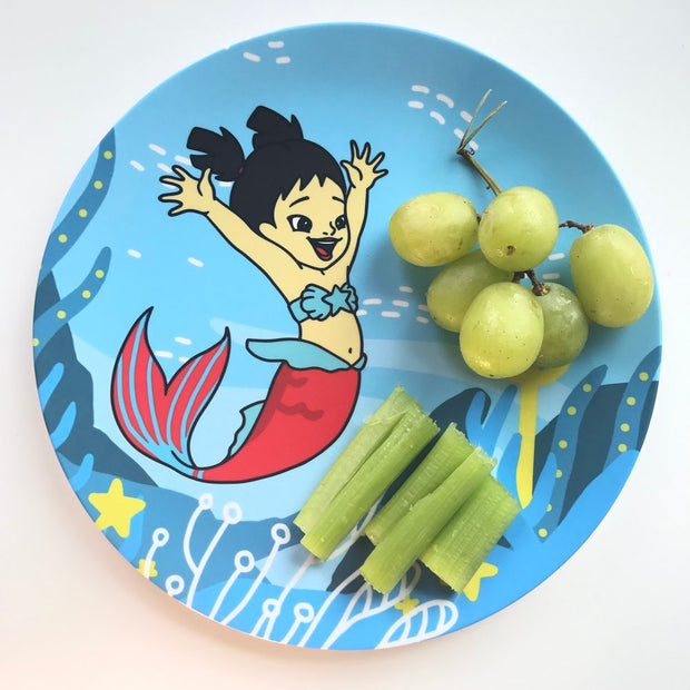 Mai Mermaid Dinner Plate