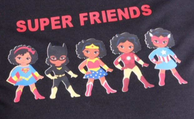 SUPER FRIENDS  - Girl T-Shirt