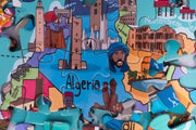 Africa Map Giant Jigsaw Puzzle - 100 piece