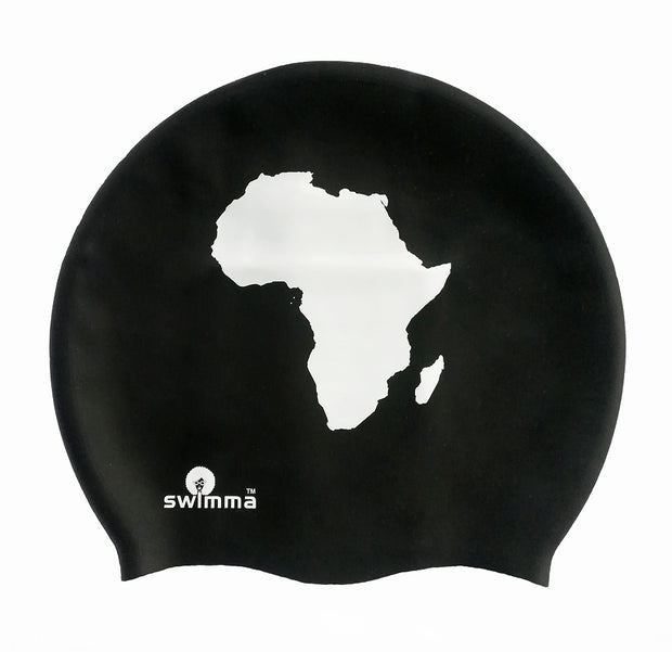 Adult AFRO SWIMMA CAP - MIDI