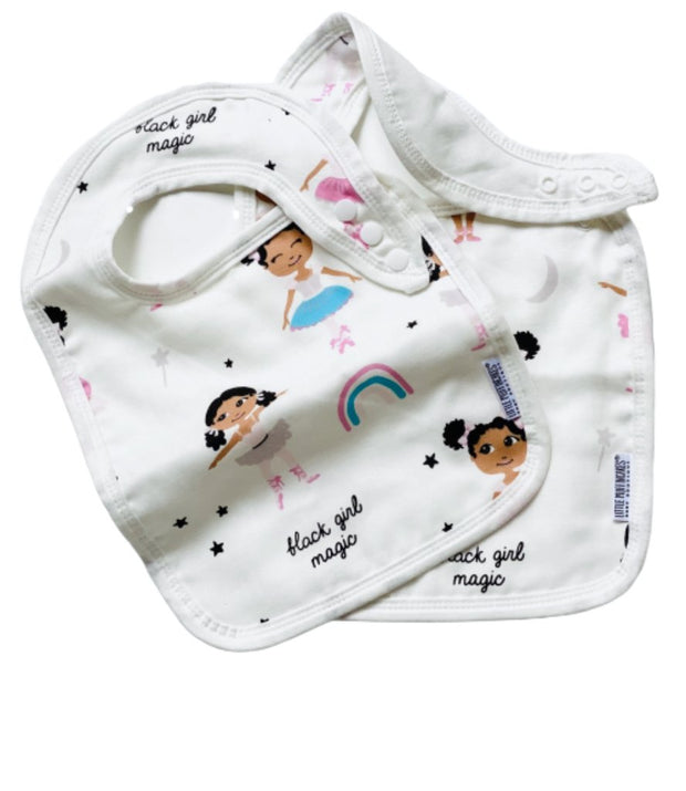 BLACK GIRL MAGIC - SNAP BIBS