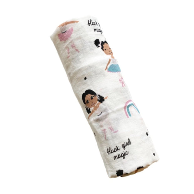 BLACK GIRL MAGIC - NURTURING WRAP BLANKET