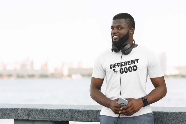 Different is Good - Unisex Adult Tees - White