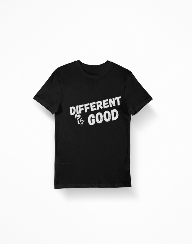 Different is Good -Unisex Adult Tees - Black
