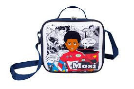 black boy lunch bag