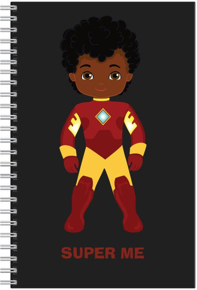 "SUPER ME - Boy Notebook (6"" by 9"")"