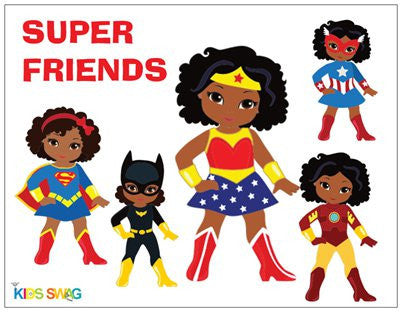 Super Friends Magnets