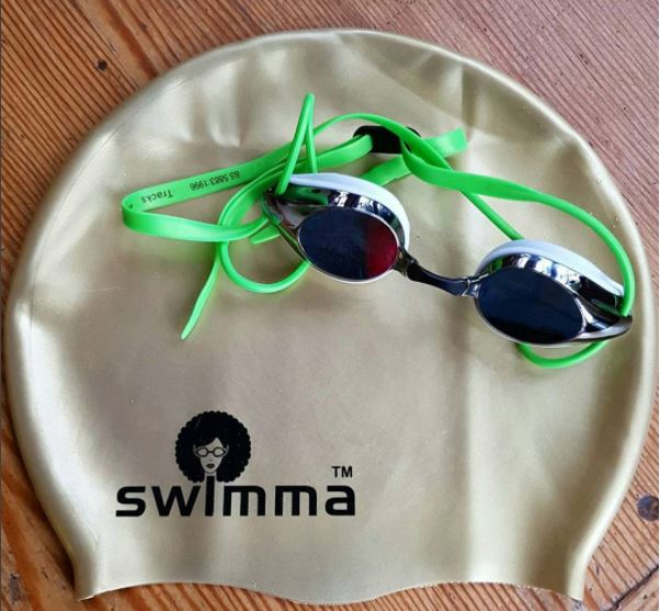 Adult - AFRO SWIMMA CAP - REGULAR