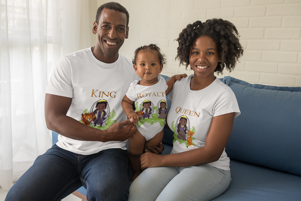 Royalty Baby Onesie - In Honor of Lion King