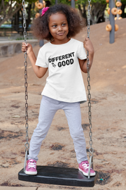 Different is Good - Unisex Youth Tees - White