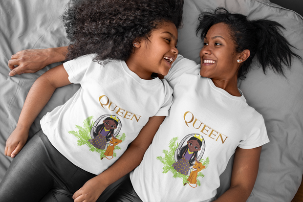 Girl's Royalty Tee - In Honor of Lion King