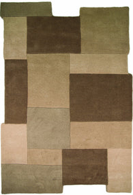 This innovative design, is no ordinary rug. Collage available in stone and red is a truly modern textile. Cut out squares, the minimalist style doesn't affect its rich and fine finish. Now available in sizes 90X150, 120X180 and 150X240.