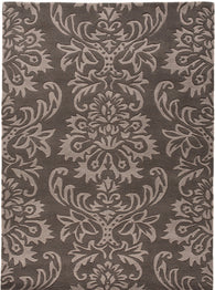 Classic floral design with contemporary colour scheme, Ornate will accentuate your living room with it's 100% wool hand carved design and plush finish. Available in sizes 120X170 and 160X230 and in colours grey and beige.