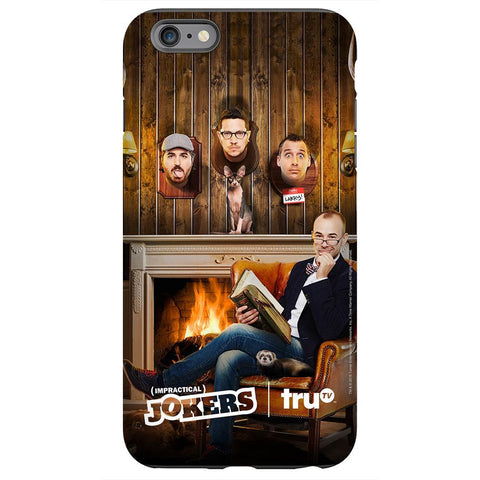 Impractical Jokers Murr Fireplace Phone Case