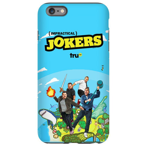 Impractical Jokers Season 7 Key Art Phone Case