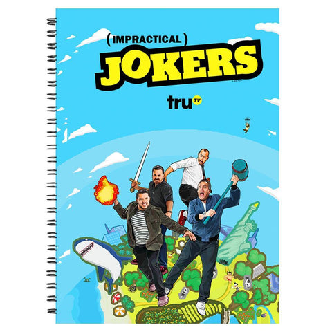 Impractical Jokers Season 7 Key Art Journal