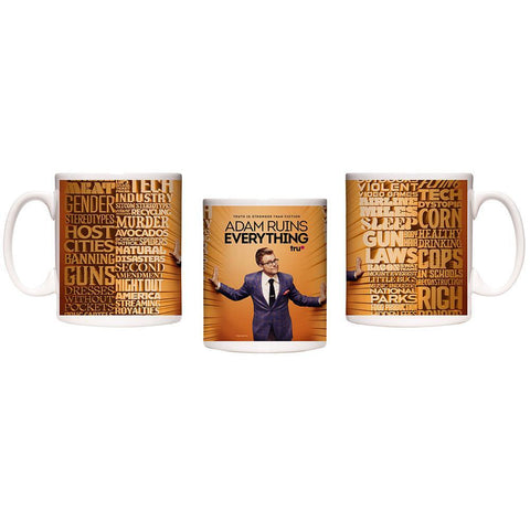 Adam Ruins Everything Stronger Than Fiction Mug