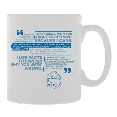 Adam Ruins Everything Quotes Mug