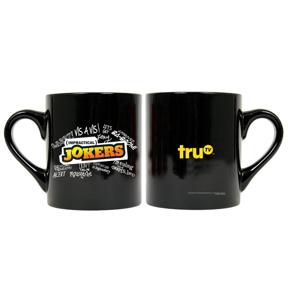 Impractical Jokers Graffitti Black Mug