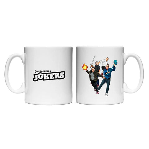Impractical Jokers Season 7 Key Art White Mug