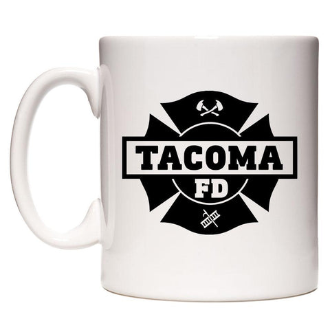 Tacoma Fire Department White Mug