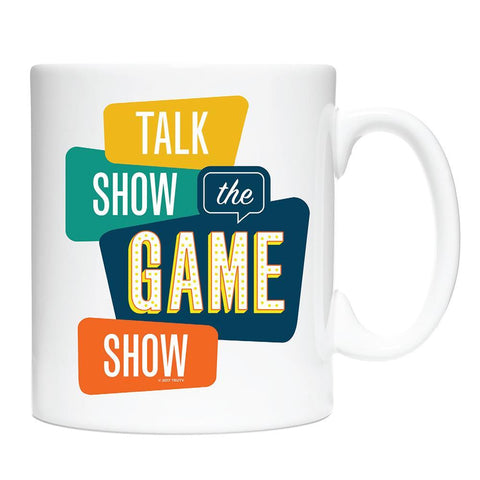 Talk Show the Game Show White Mug