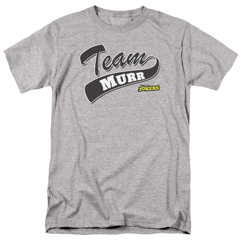 Impractical Jokers Team Murr Adult Athletic Heather T-Shirt