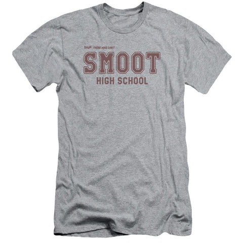 Those Who Can't Smoot High School Adult Athletic Heather T-Shirt