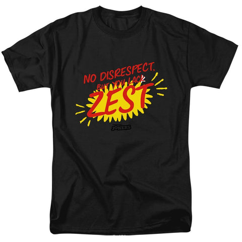 ca5259b6 Impractical Jokers Weekly Tee No Disrespect Black T-Shirt