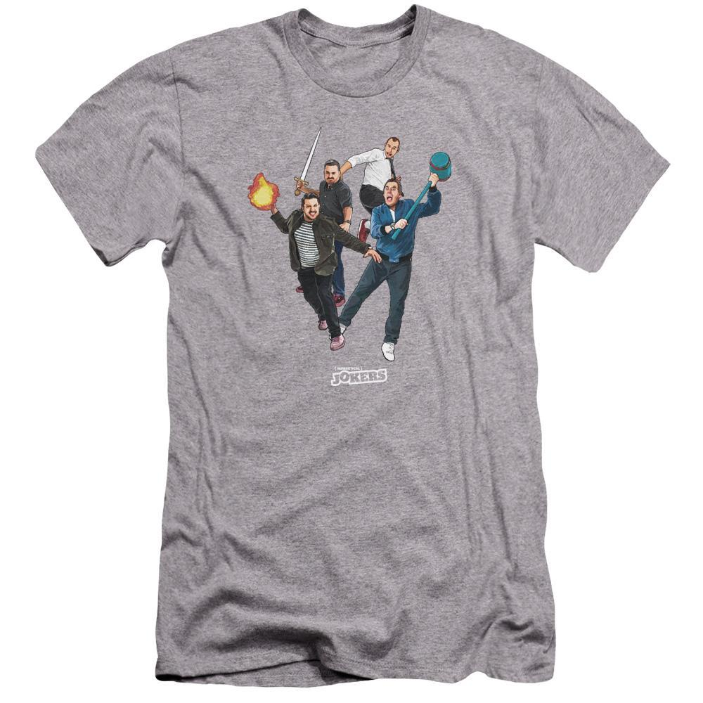 Impractical Jokers Cast Grey T-Shirts