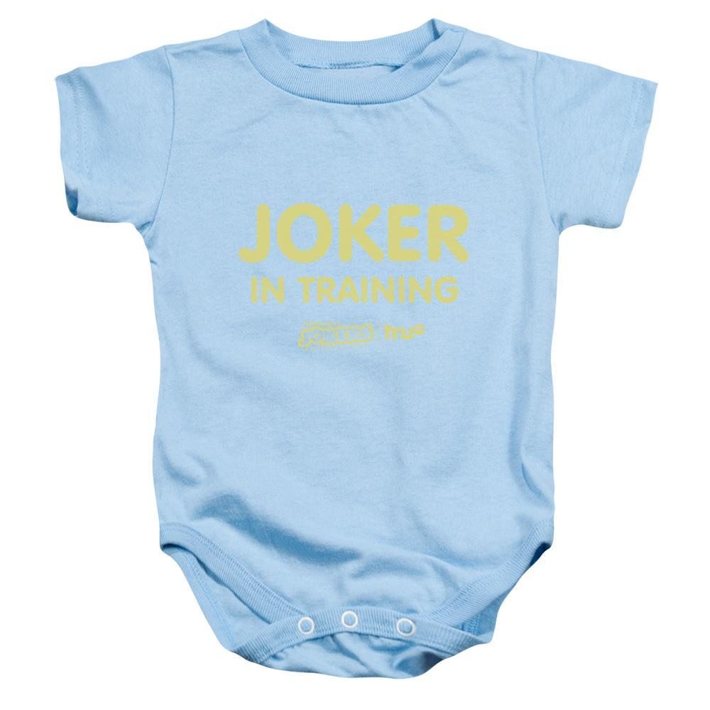"Impractical Jokers ""Joker In Training"" Light Blue Infant Snap Suit"