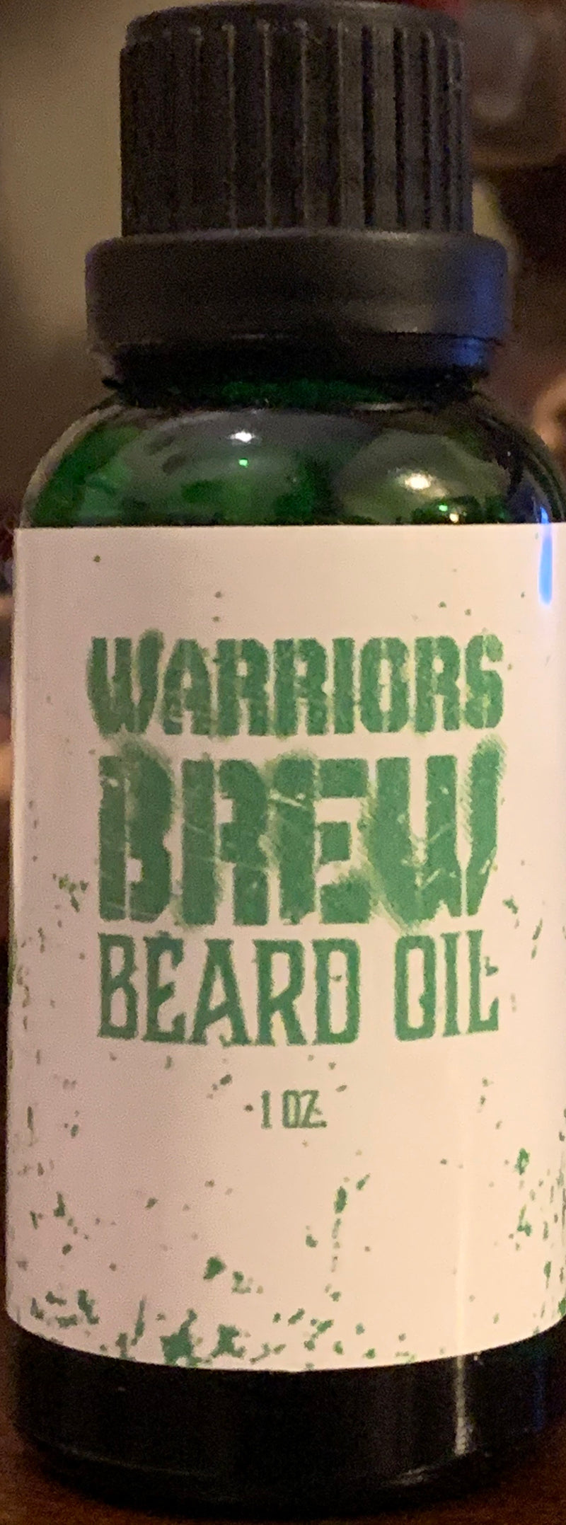 Warriors Brew Mahogany/Teakwood Beard Oil