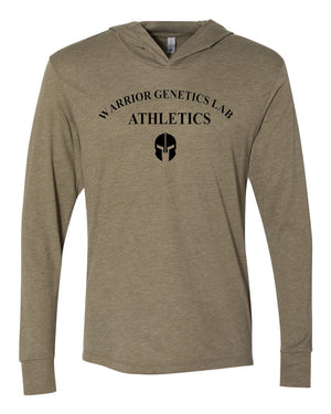 WGL Athletics Lightweight hoodie - Warrior genetics Lab