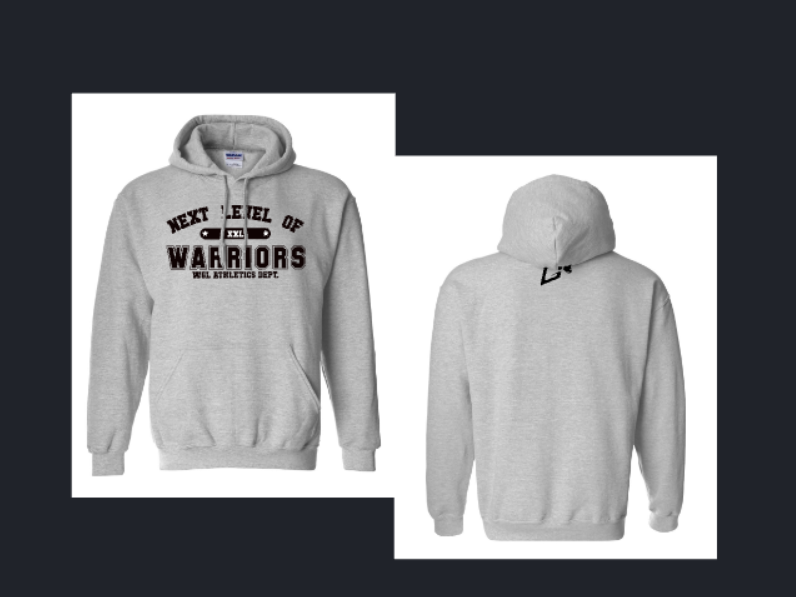 "Warrior Genetics Lab ""Next Level of"" Hoodie - Warrior genetics Lab"