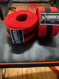 Warrior Genetics Lab Heavy Knee Wraps 3m - Warrior genetics Lab