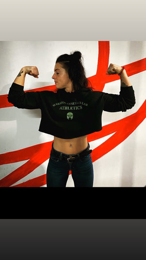 WGL Crop Tops hoodies - Warrior genetics Lab