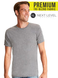 Next Level® Adult Triblend - The Lemon Print | Online Marketing and T-Shirt Print Shop | Miami, Florida