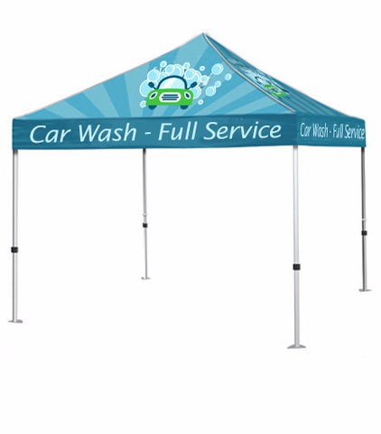 10ft Event Tent (Full Color) - The Lemon Print | Online Marketing and T-Shirt Print Shop | Miami, Florida